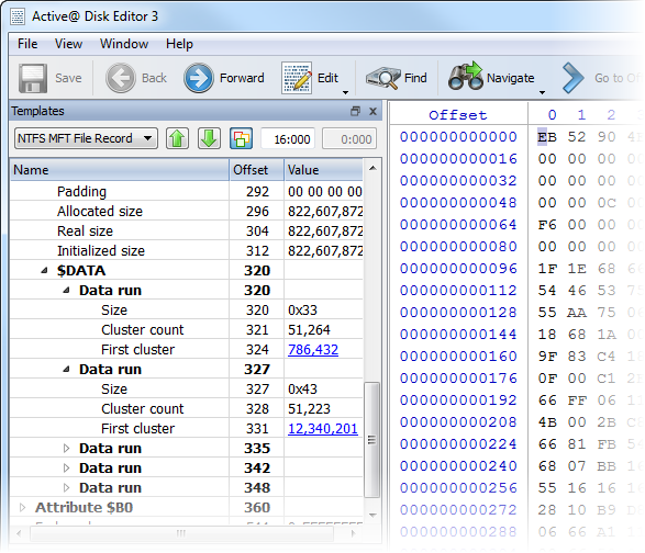 Active@ Disk Editor - Freeware Hex Viewer & Hex Editor for raw
